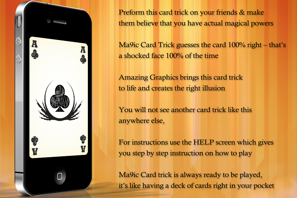 Screenshot Super Magic Card Trick: Ma9ic Free