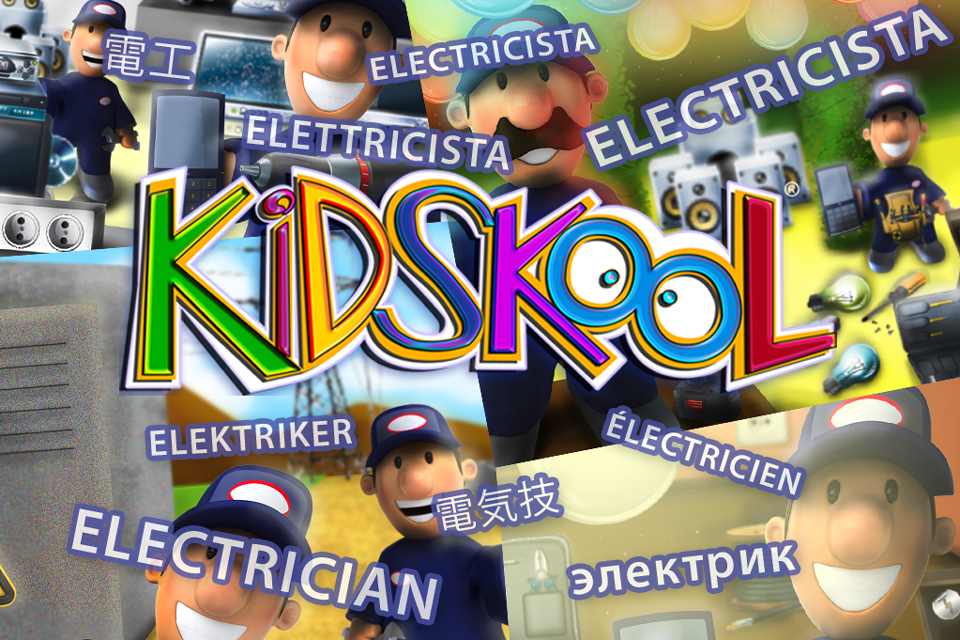 Screenshot Kidskool: Electrician